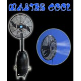 MASTER COOL - MOBILE MIST COOLING FAN WITH INTEGRATED HIGH PRESSURE MISTING PUMP