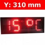 """Πινακίδα led για Ρολόι Θερμοκρασία / Αντ. μέτρηση/ Ρολόι - 12"""""""