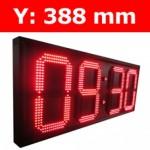 """Πινακίδα led για Ρολόι Θερμοκρασία / Αντ. μέτρηση/ Ρολόι - 15"""""""