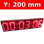"""Πινακίδα led για Ρολόι Θερμοκρασία / Αντ. μέτρηση/ Ρολόι - 8"""""""