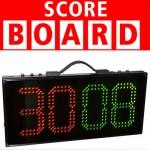 Led ηλεκτρονική πινακίδα αλλαγής παικτών & ένδειξης χρόνου